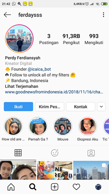 "Terbaru, Filter ""How Old Do I Look?"" di Instagram"