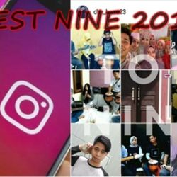 Cara Buat Best Nine 2019 Instagram Android
