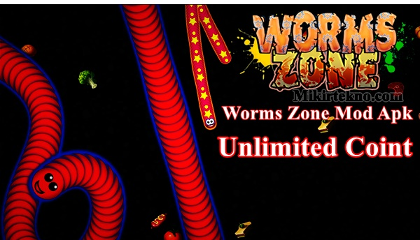 Download Worms Zone Mod Apk Game Cacing V1.3.6 Unlock All Terbaru 2020