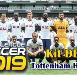 Kit DLS Jersey Tottenham Hotspur 2019/2020 - Dream League Soccer