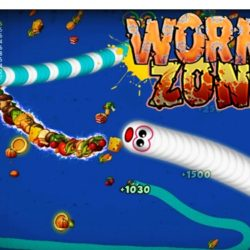 Worms Zone Mod Apk Full Unlocked Game Cacing Versi Terbaru 2020