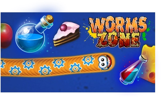 Cheat Worms Zone io Mod Apk Unlimited Money Cacing Langsung Besar