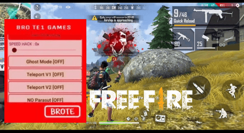 Brote Mod FF Apk, Cheat Menu Free Fire Versi Terbaru 2020